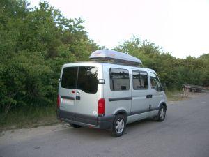 Solfilm i varebilen, forhind at folk kan kigge ind og modvirker varme.