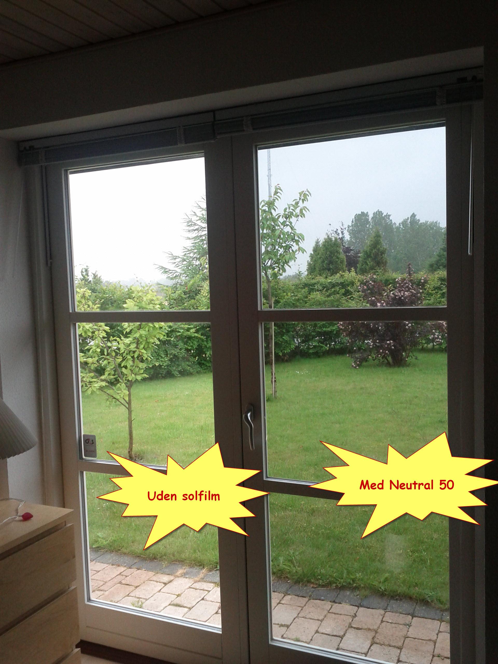 Solfilm til vinduer aalborg