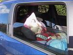 Solfilm til biler så kan du sove bag ruden.