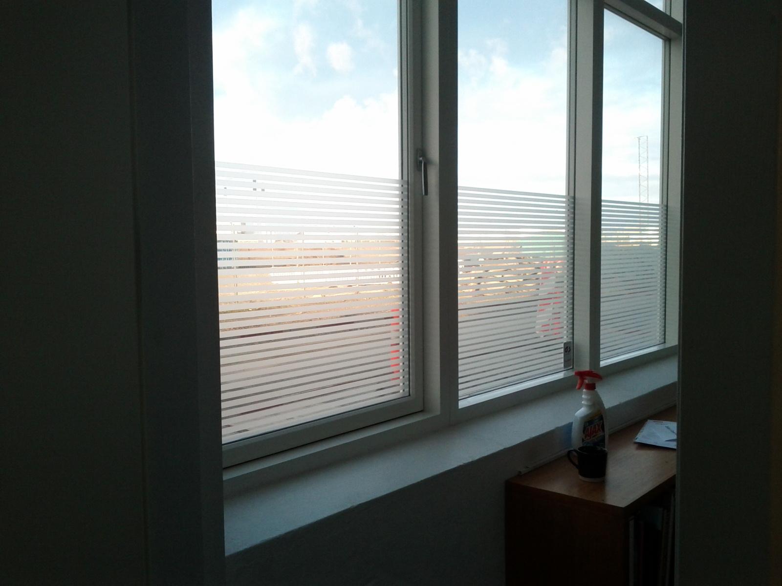 plastfolie til vinduer