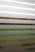 Sandblæst folie – 13 mm striber fra Réflectiv. 137,5 kr. pr. kvadratmeter